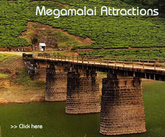 megamalai tourist attractions